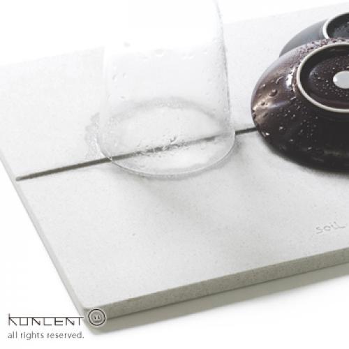 soil GEM ドライングボード M | ソイル 珪藻土 日本製 キッチン 水切りマット