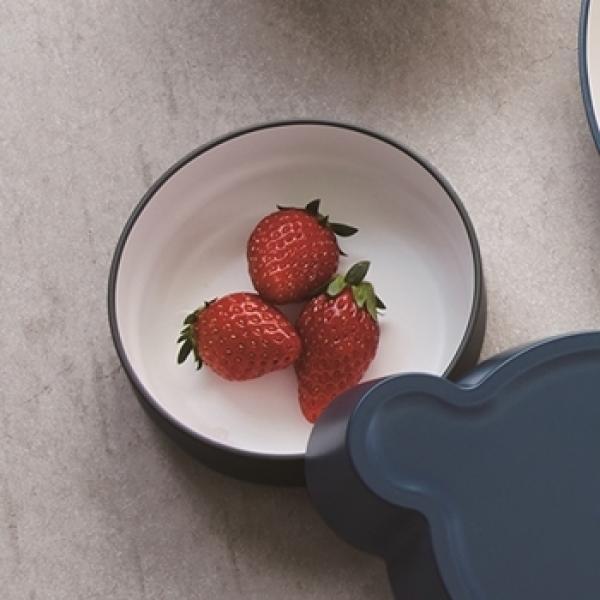 tak キッズディッシュ ボウル スタンダード S グレー   日本製   離乳食 食器 子供用 電子レンジ 食洗機OK
