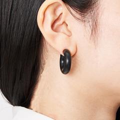 acrylic 2120  GUM earring  ブラック
