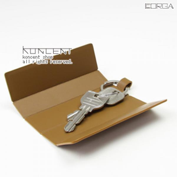 CORGA キーケース ブルーグレイ