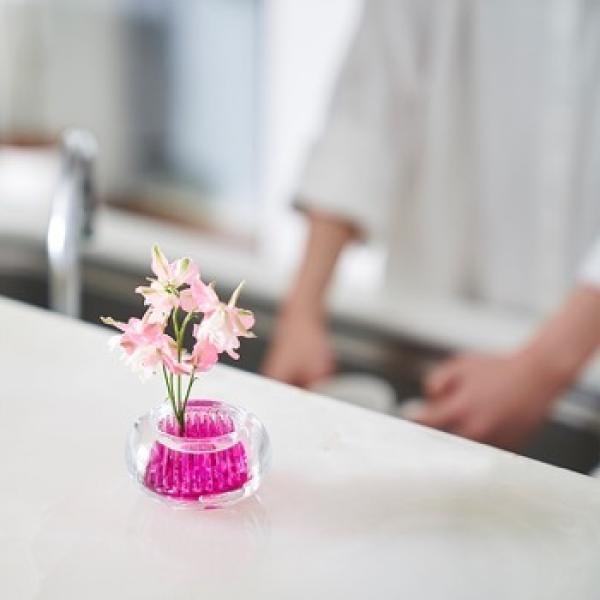 +d ミチクサ 芝 | 一輪挿し 花器 アッシュコンセプト