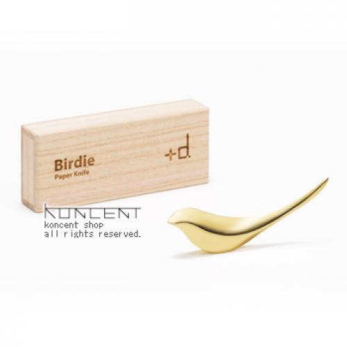 +d バーディー (真鍮) ゴールド | ペーパーナイフ アッシュコンセプト