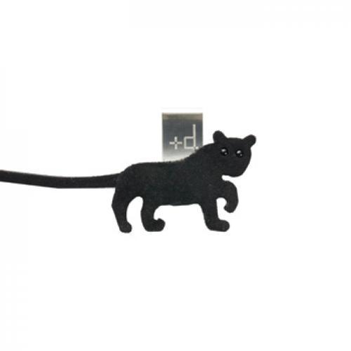 +d アニマルブックマーク 黒ひょう | アッシュコンセプト