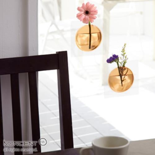 +d Kaki カキ クリア  | 一輪挿し 花器 アッシュコンセプト