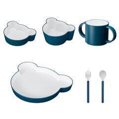 タック ギフトボックス ベア カトラリー ネイビー | tak gift box bear cutlery 日本製 電子レンジ、食洗機OK