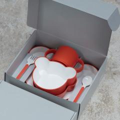 タック ギフトボックス ベア カトラリー オレンジ | tak gift box bear cutlery 日本製 電子レンジ、食洗機OK