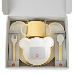 タック ギフトボックス ベア カトラリー イエロー | tak gift box bear cutlery 日本製 電子レンジ、食洗機OK