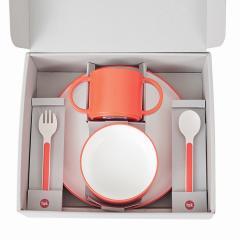 タック ギフトボックス スタンダードカトラリー オレンジ | tak gift box standard cutlery 日本製 電子レンジ、食洗機OK