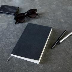 イトウ バインダリー ノート ブック 方眼 A5 Slim Black / ITO BINDERY Notebook ノート 日記 日本製 伊藤バインダリー