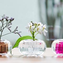 +d ミチクサ 氷   一輪挿し 花器 アッシュコンセプト