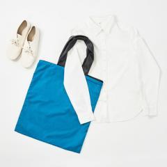 +d×acrylic Light Shopper ターコイズ | アクリリック ライトショッパー | エコバッグ ショッピングバッグ