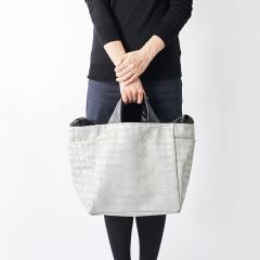 acrylic M bag 2way RENZ WH |アクリリック エムバッグ レンズホワイト 日本製