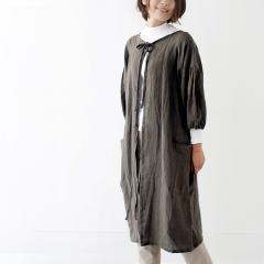 SUNNY LOCATION apron coat ブラウン / サニーロケーション エプロンコート