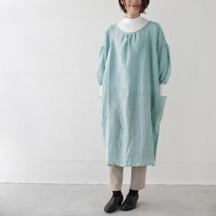 SUNNY LOCATION apron coat サックスブルー / サニーロケーション エプロンコート