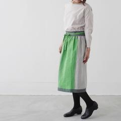 SUNNY LOCATION apron skirt グリーン / サニーロケーション エプロンスカート