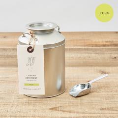 とみおかクリーニング 洗濯粉洗剤  プラス    ミルク缶入り(計量スプーン付き)