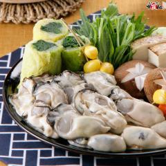 【送料無料】ジャンボ広島かき1kg(解凍後850g/30粒前後2Lサイズ) 【カキ】【牡蠣】【鍋】