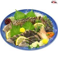 しっとり柔らかな身と、炙った皮の風味が絶品!日本海の高級魚サワラたたき半身フィーレ約350g(3~4人前)【さわら】【サワラ】【鰆】