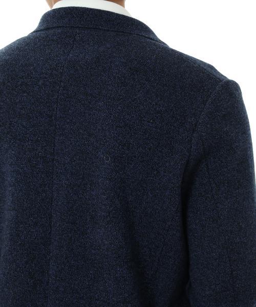ミラノリブ ニットジャケット