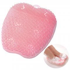 送料無料 フットグルーマー マニキューレ フットケアブラシ(ピンク) お風呂 美容 マッサージ フットケア