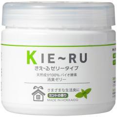5%OFFクーポン対象商品 消臭剤 きえ~る ゼリータイプ(ミントの香り) 天然成分 お部屋 トイレ 置き型 消臭 クーポンコード:V6DZHN5