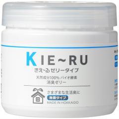 5%OFFクーポン対象商品 消臭剤 きえ~る ゼリータイプ(無香) 天然成分 お部屋 トイレ 置き型 消臭 クーポンコード:V6DZHN5