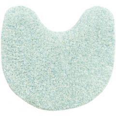 5%OFFクーポン対象商品 SDS サロンドソワレ ドゥースメランジェ トイレマット 約58×60cm ブルー 洗える すべり止め ふかふか ふわふわ さらさら やわらか 吸水 速乾 ミックス かわいい おしゃれ クーポンコード:V6DZHN5