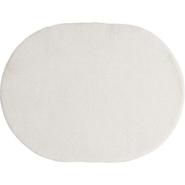 SDS 送料無料 サロンドソワレ リュエール エリアラグ 約100×135cm ホワイト