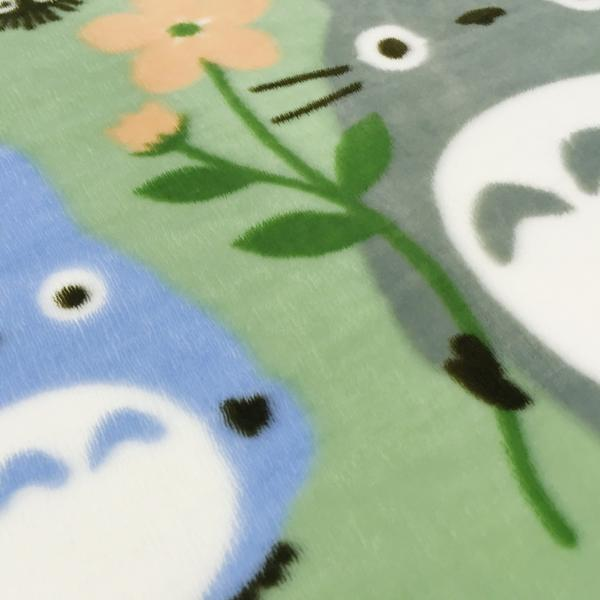 となりのトトロ おともだち ボアマット 約50x120cm グリーン