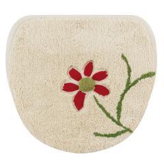 【シビラ】 エンラサーダ マルチフタカバーN ベージュ 洗える 花 モチーフ 綿 コットン ブランド おしゃれ