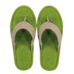 5%OFFクーポン対象商品 SDS Hanaoシバフル スリッパ Mサイズ ハイドパーク 洗える 鼻緒 立体 履きやすい サンダル 草履 かわいい おしゃれ 芝生 芝 クーポンコード:V6DZHN5