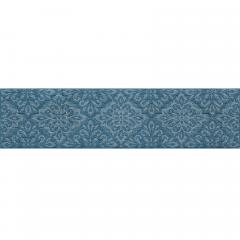 モノプリズム キッチンマット 約45×180cm ブルー
