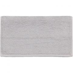 5%OFFクーポン対象商品 M+home ミーナ フェイスタオル 約34×80cm グレー 刺繍 モダン エレガント シック 上品  クーポンコード:V6DZHN5