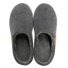 5%OFFクーポン対象商品 【Beide】 バイデ1 スリッパ(室内・屋内両用) メンズ Mサイズ/グレー 洗える インソール クッション やわらか フィット ルームシューズ オフィス 事務所 靴 クーポンコード:V6DZHN5