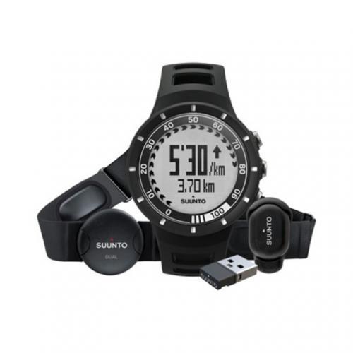 スント(SUUNTO) クエスト ランニングパック ブラック Quest Running Pack Black SS018156000 腕時計 アウトドアウォッチ(Men's、Lady's)
