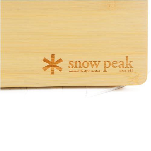 スノーピーク(snow peak) ウッドテーブル S竹 CK-125T テーブル 天板 キャンプ(Men's、Lady's)