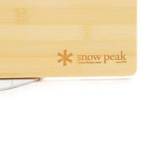 スノーピーク(snow peak) ウッドテーブル W竹 CK-126T キャンプ用品 天板(Men's、Lady's)