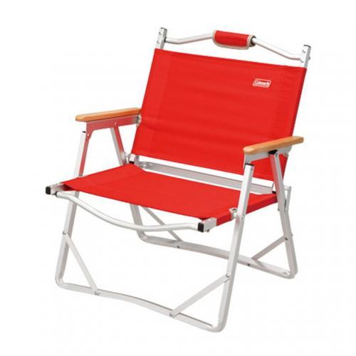 コールマン(Coleman) コンパクトフォールディングチェア レッド  170-7670 キャンプ バーベキュー 折りたたみ椅子(Men's、Lady's)