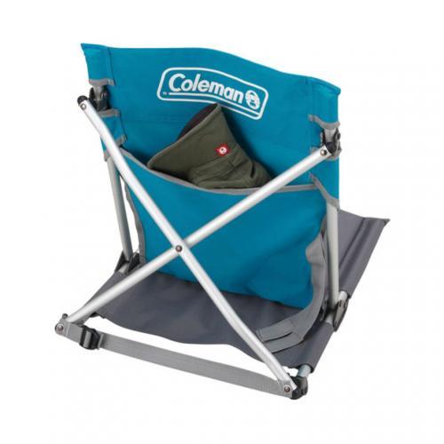 コールマン(Coleman) コンパクトグランドチェア スカイ 170-7672 折りたたみ椅子 キャンプ(Men's、Lady's)