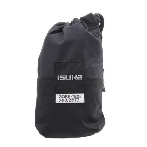 イスカ(ISUKA) ゴアテックス ライトスパッツ フロントジッパー レギュラー 2431-01 ブラック ゲイター(Men's、Lady's)