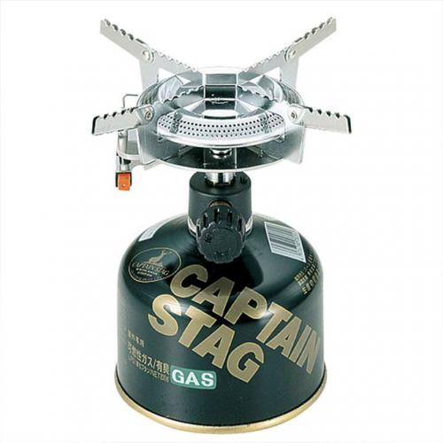 キャプテンスタッグ(CAPTAIN STAG) オーリック 小型ガスバーナーコンロ 圧電点火装置付 (ケース付) M-7900 キャンプ用品 ストーブ(Men's、Lady's)
