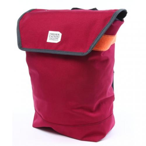 フレドリックパッカーズ(FREDRIK PACKERS) LIGHT WEIGHT BACK PACK M バックパック DARK RED ORANGE(Men's、Lady's)