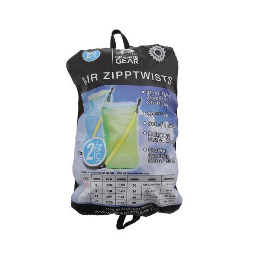 グラナイトギア(GRANITEGEAR) エアジップツイスト AIR ZIPP TWISTS 2個セット 5L 2210900161(Men's、Lady's)