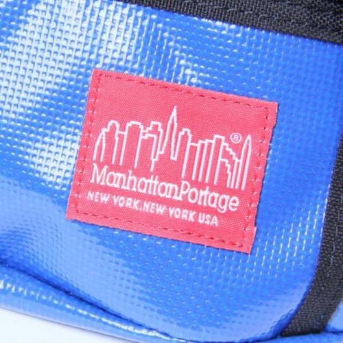 マンハッタンポーテージ(ManhattanPortage) 1101PW Vinyl Alleycat Waist Bag(Men's、Lady's)