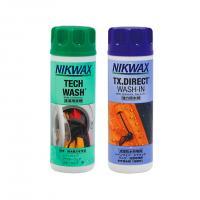 エバニュー(EVERNEW) NIKWAX ニクワックス ツインパック セットパック 洗剤 撥水剤EBEP01(Men's、Lady's)