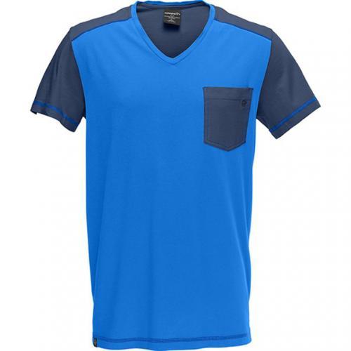 ノローナ NORRONA 1271146800 /29 cotton V neck T-Shirt (M) Electric Blue