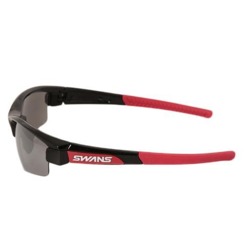 スワンズ(SWANS) LION SINミラーレンズモデル スポーツサングラス LI SIN-0701 BK/R ブラウン×レッド(Men's、Lady's)