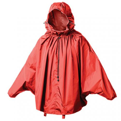 ブルックス(BROOKS) CAMBRIDGE RAINCAPE S RED レインウエア サイクルウエア 90-2581500406(Men's、Lady's)