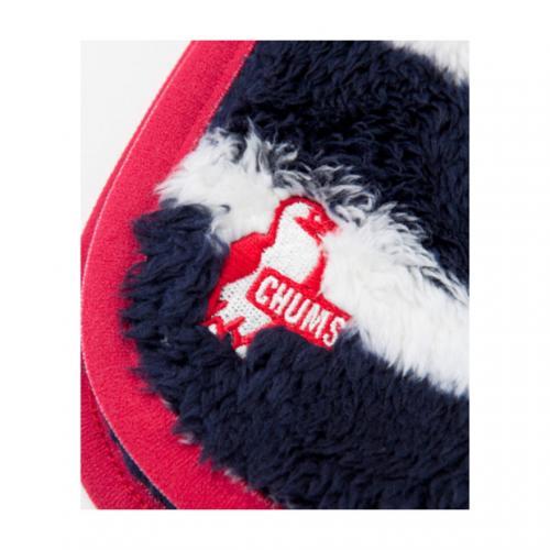 チャムス(CHUMS) フリースエルモマフラーIII Fleece Elmo Muffler III CH09-0660 ネイビー/ホワイト Navy/White(Men's、Lady's)