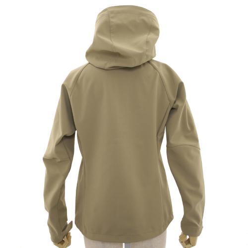 カリマー(karrimor) アリート ウィメンズ ソフトシェルフーディー arete W's softshell hoodie 21108W141-BEG ジャケット(Lady's)
